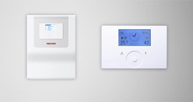 ترموستات کنترل گرمایش محیطی