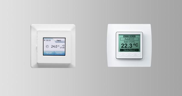 ترموستات های کنترل گرمایش از کف