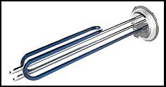 نمونه ای از المنت با پوشش سرامیکی مقاوم در برابر رسوب